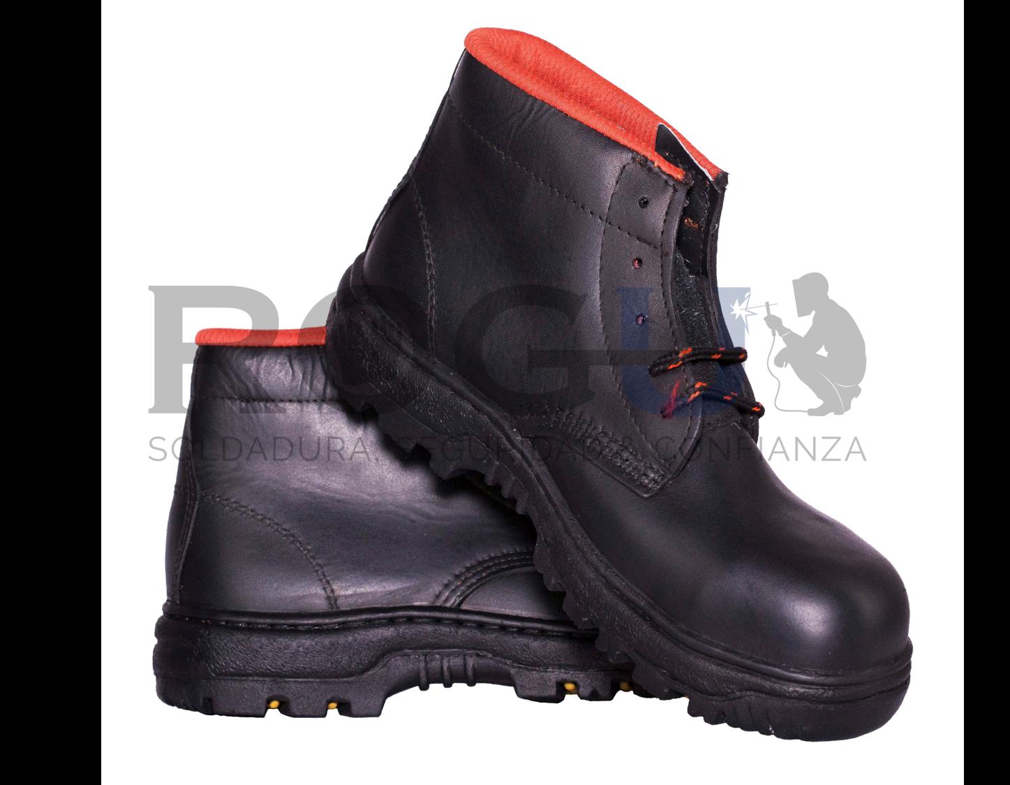 f219ac5a Botas Industriales Borcegui Modelo 1 negro ROGU México